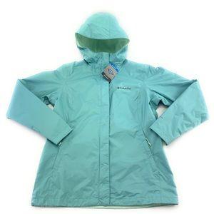 Columbia Womens Arcadia II Omni-Tech Hooded Jacket